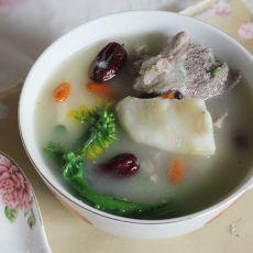 山药红枣猪骨汤的做法