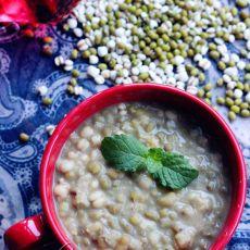 薏米绿豆粥的做法