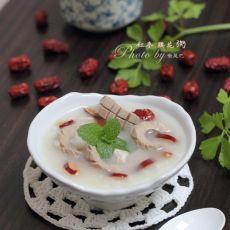 红枣腰花粥