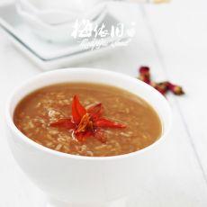 红茶玫瑰粥