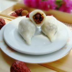 红枣糯米团