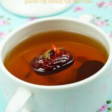 金银花红枣茶