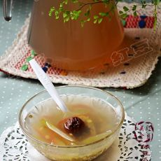 绿豆瓜皮话梅汤--防暑降温的做法