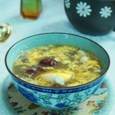 阿胶红枣鸡蛋汤的做法