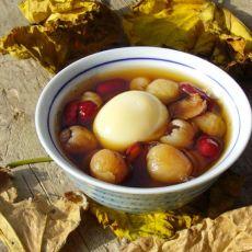 桂圆红枣鸡蛋糖水-首发的做法