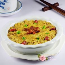 黄花枸杞蒸瘦肉