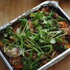 时蔬烤鱼的做法