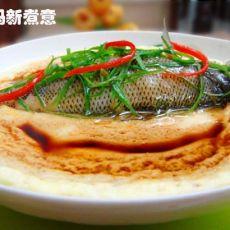 鲈鱼蒸水蛋