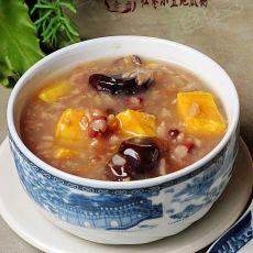 红枣小豆地瓜粥的做法