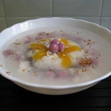 酒酿圆子八宝饭的做法