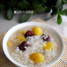 栗子红枣粥