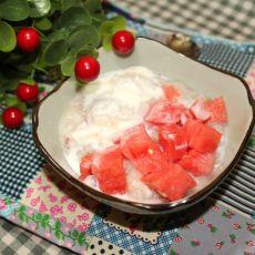夏季解暑之西瓜冰粥