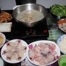 鸡汤火锅的做法