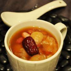 红枣五味糖水的做法