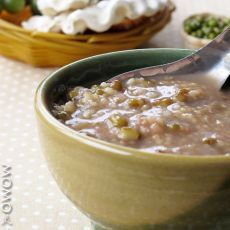 绿豆二米粥――上班族祛火最便捷的不二选择