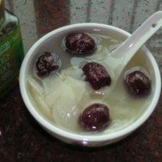 淮山红枣糖水