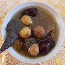 板栗红枣乌鸡汤
