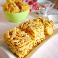 红薯变身之芝麻苕酥的做法