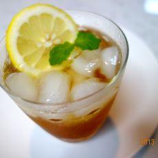 自制酵素柠檬减肥饮料