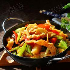 干锅豆皮的做法
