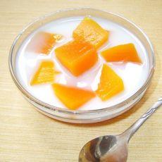 冰糖木瓜牛奶