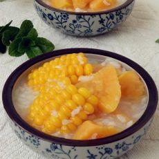 甜玉米红薯粥的做法