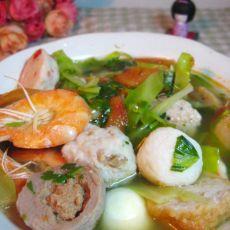 蔬菜海鲜汤