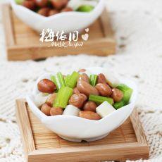 茶香花生藕