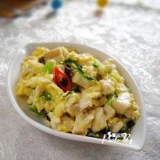 小炒芹菜豆腐