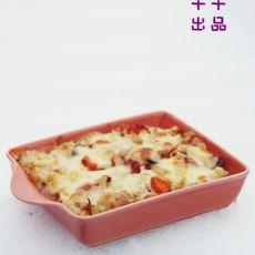 菠萝什锦�h饭的做法