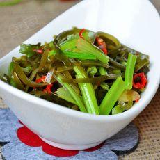 姜汁芹菜海带丝
