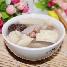 香菇腐竹瘦肉汤