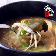 银鱼海带豆腐味噌汤的做法