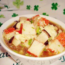 香菇蟹肉汤