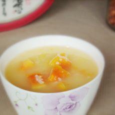 小米木瓜粥