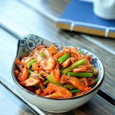 芹香湖虾的做法
