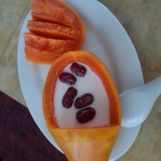 木瓜红枣牛奶