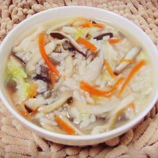 什锦蔬菜粥
