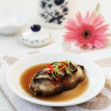 香菇蒸鳕鱼