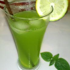 柠檬青瓜薄荷汁