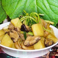 香菇土豆炖小鸡
