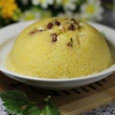 红豆莲子蒸小米的做法