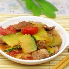 瘦肉炒南瓜的做法