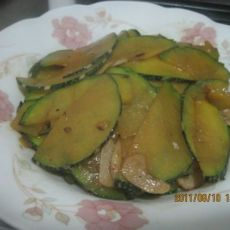 蒜炒南瓜的做法