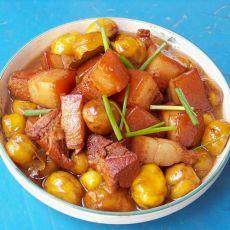 板栗红烧肉(电饭锅版)