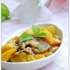 南瓜酥肉的做法