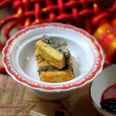 自制海苔豆腐的做法