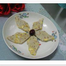 桂花板栗重阳糕