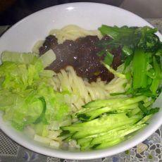 韩式肉酱面的做法