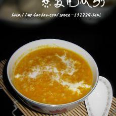 燕麦南瓜粥 的做法